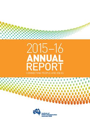IPAA NSW Annual Report 2015-16